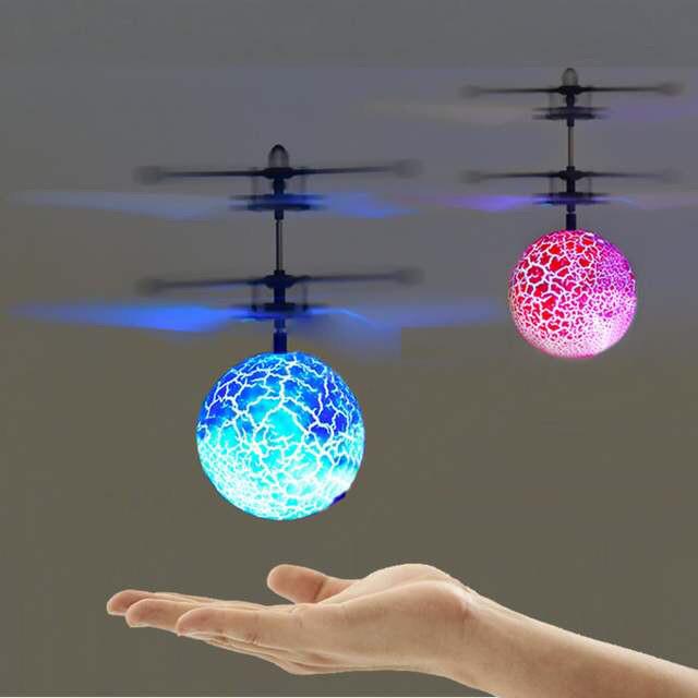 Летающий шар светящийся