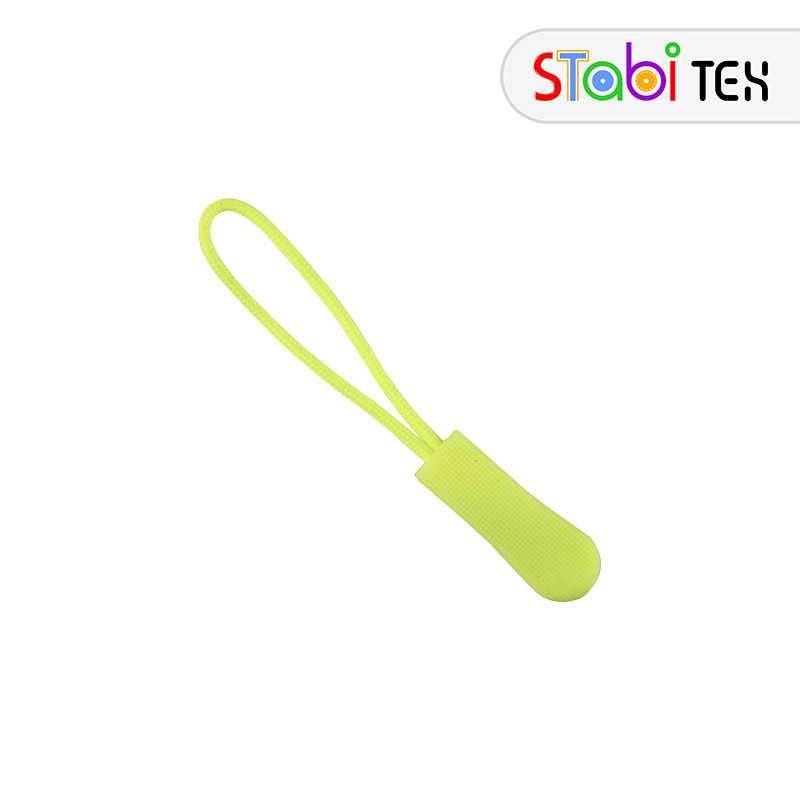 Пуллер шнурок для бегунка ZYD-1167 Лимонный фосфорный