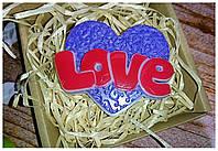 Мило ручної роботи Love, фото 1