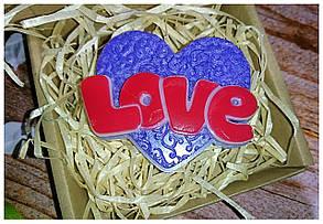 Мило ручної роботи Love