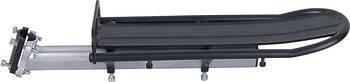 Багажник AL крепл. на подсед.штырь KAIWEI KW-618-08 (серо-черный)