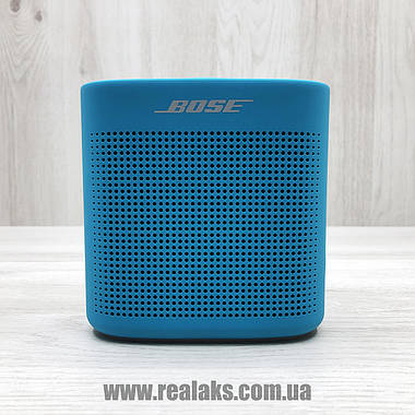 Портативная колонка Bose SoundLink Colour II (Aquatic Blue), фото 2