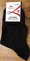 """Чоловічі стрейчеві шкарпетки""""Medical Line"""" без гумки 41-45, фото 1"""
