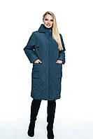 Весенняя куртка женская, арт. ЛД101-3, цвет малахит, фото 1