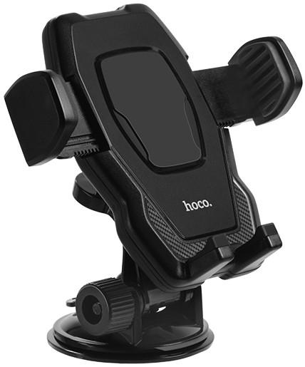 Автодержатель Hoco Cool Run Suction Cup Holder Черный CA31