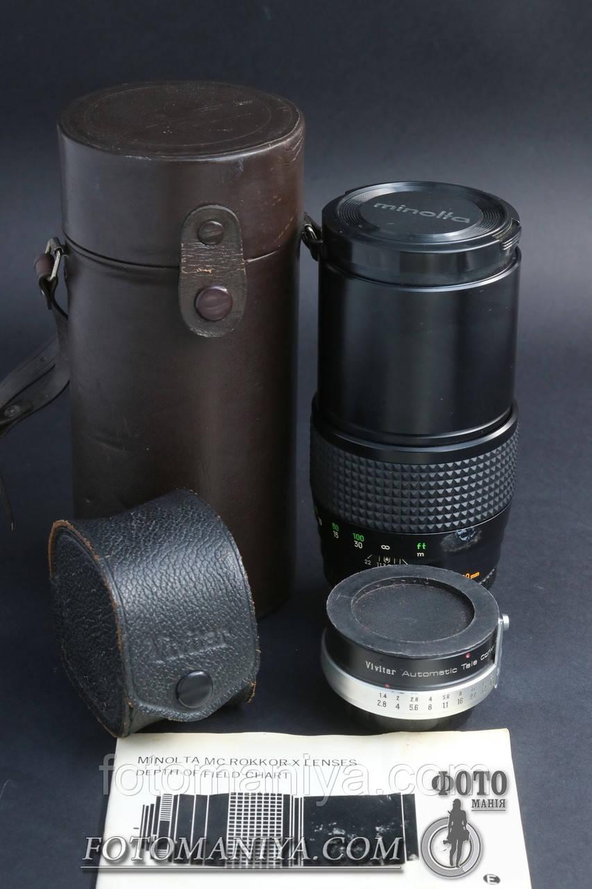 Minolta MC Tele Rokkor-X 200mm f3.5