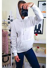 Женский свитшот с капюшоном на байке, фото 3
