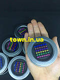 Конструктор головоломка Neocube Радуга 216 неодимовых шариков в боксе магнитный нео куб цветной 5мм, фото 3