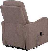Кресло электро-реклайнер DM-02006 ткань тауп TM Bellini, фото 2