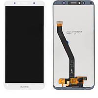 Дисплей (модуль) Huawei Y6 2018, Prime, Honor 7c, 7a,  AUM-L29, AUM-L41, ATU-L21, ATU-L31 белый
