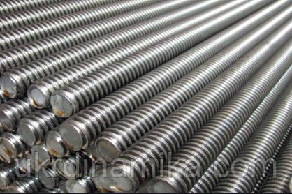 Шпилька М8 DIN 975 нержавеющая сталь А2, фото 2