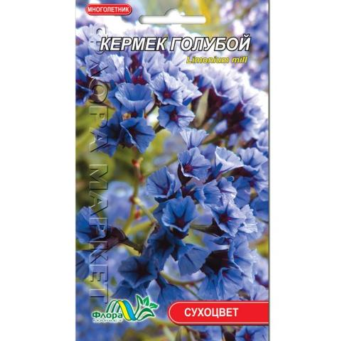Кермек голубой, сухоцвет-многолетник, семена цветы 0.05г