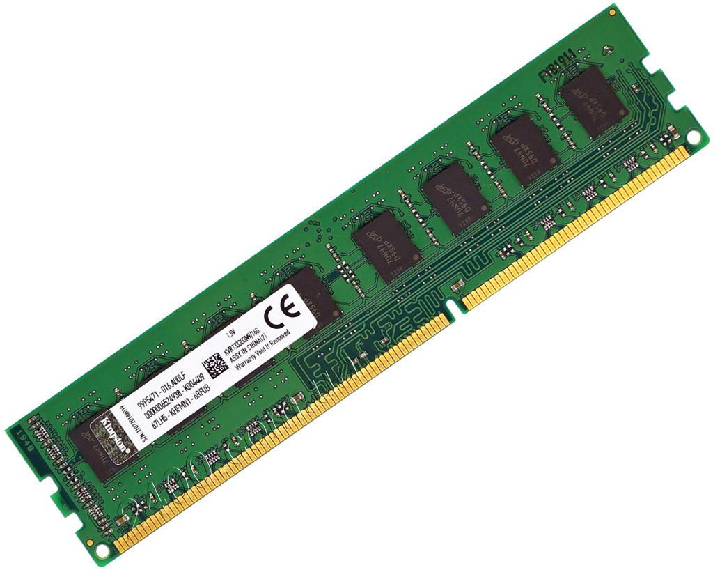 DDR3 16Gb 1333MHz оперативная память (ДДР3 16Гб) для AMD PC3-10600 Soket AM3/AM3+ и FM2/FM2+ KVR1333D3N9/16