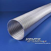 Вентс Алювент Н 110/3. Полугибкие воздуховоды из алюминия.