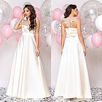 """Жіночне довга весільна, випускну, вечірню сукню """"Енжел"""", фото 1"""