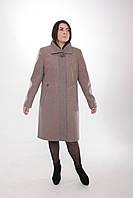 Пальто женское  -Л-589 коричневое