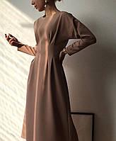 Сукня офісне міді, фото 1