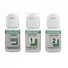 Нить ретракционная Gingi-pak (зеленая, эпинефрин)