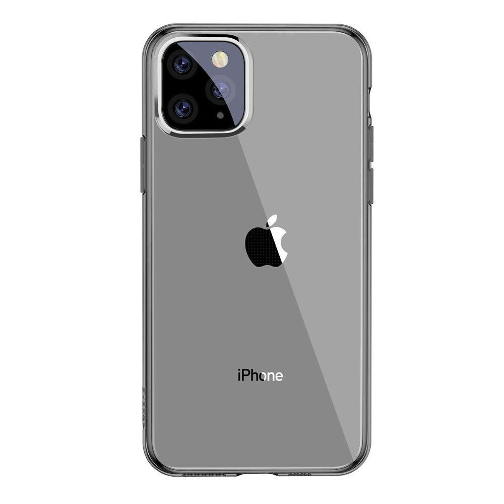 Чехол Baseus Simple (TPU) iPhone 11 Pro (black)