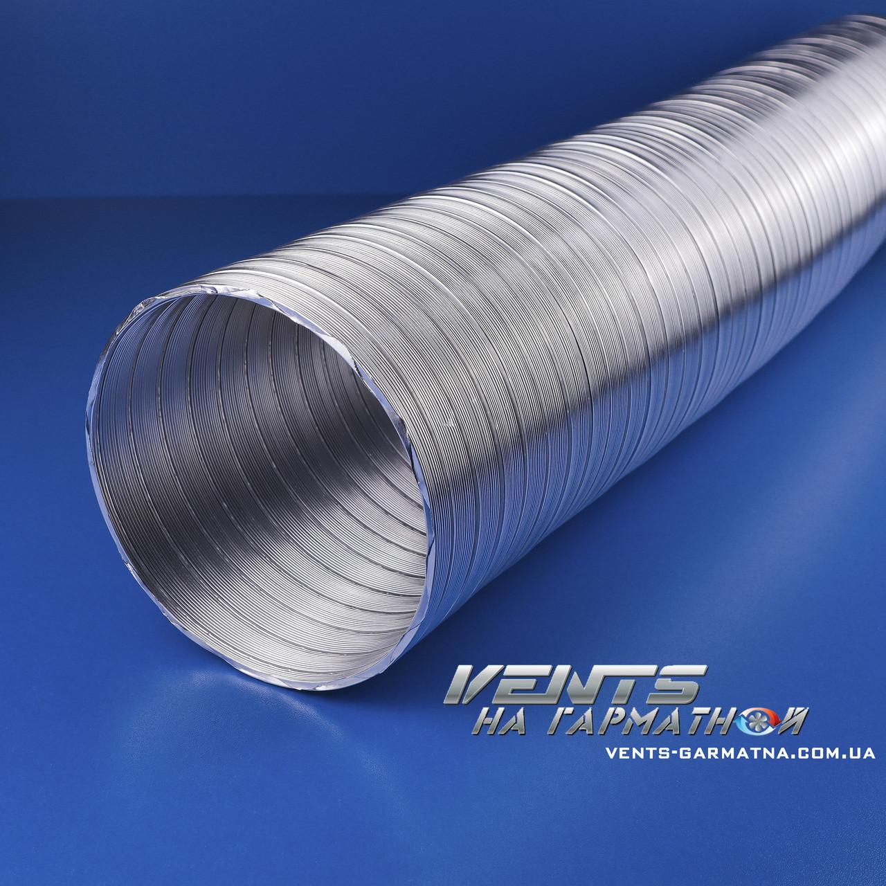 Вентс Алювент Н 125/3. Полугибкие воздуховоды из алюминия