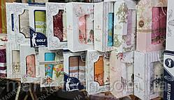 Набір махрових рушників 50х90-2шт,70х140-1шт. Бавовна! Туреччина., фото 3