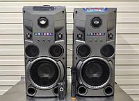 Комплект аткивной акустики с радиомикрофоном Rock Music RC-8950 (150W/FM/Bluetooth/USB), фото 1