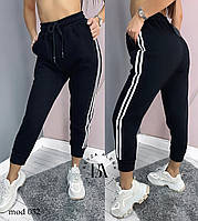 Спортивные штаны женские чёрный, графит, 42-44, 46-48