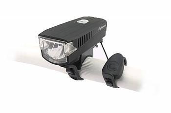 Фонарь пер. BC-FL1588 350лм LED питание Li-on 1200mAh с эл звонком USB Pl