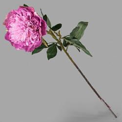 Пион розовый искусственный 95 см