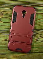 Чехол противоударный на Meizu M3 Note красный