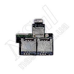 Шлейф HTC Desire VC T328d с sim-коннектором