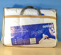 Одеяло Руно двуспальное евро 200x220 искусственный лебединый пух 420 г/м2 (322.52ЛПУ), фото 3