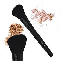 Кисть из натурального ворса для макияжа Parisa P04 (для пудры, румян, бронзатора, хайлайтеров)