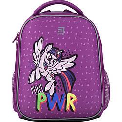 Рюкзак школьный каркасный Kite Education My Little Pony 12 л Фиолетовый LP20-555S