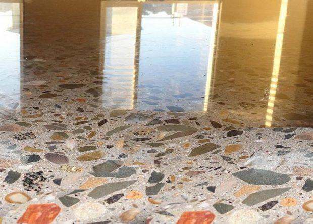Терраццо - підлоги з мармурової крихти