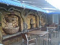 Декоративное оформление кафе, баров, ресторанов