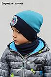 Шапка Детская для мальчика с Бейблейдом, Цвет Синий, , фото 6