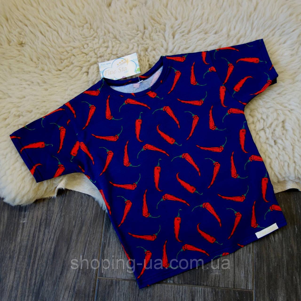 Футболка для мальчика перчики Five Stars KX0294-116p