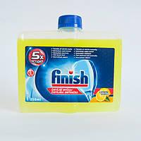 Средство для чистки посудомоечных машин finish лимон, 250 мл