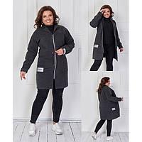 Куртка пальто женская деми 473165 р 48-62