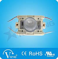 LED модуль с линзой RISHANG SMD3535 3,24W 1Led 12V (IP65) 6500K White