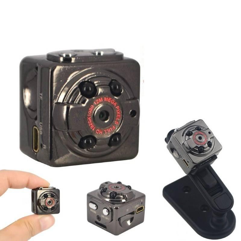 Шпионская мини камера SQ8 видеокамера с датчиком движения, Шпигунська міні камера, Видеокамера, Камеры