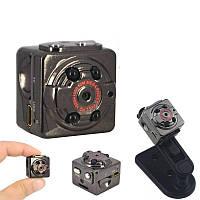 Шпионская мини камера SQ8 / самая маленькая видеокамера с датчиком движения и ночным видением, Шпигунська міні камера, найменша відеокамера з датчиком