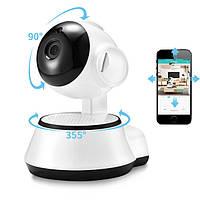 Поворотная IP камера видеонаблюдения Wireless Smart WiFi Camera 360, Поворотна IP камера відеоспостереження