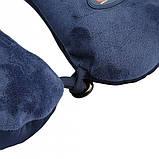 Массажная дорожная подушка Neck Massage Cushion, Антистрессовая подушка-подголовник массажная, Массажер,, фото 3