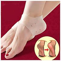 Силиконовые носочки для пяток Heel Anti-Crack Sets, Бандаж от натирания пяток, Силіконові носочки для п'ят, Бандаж від натирання п'ят