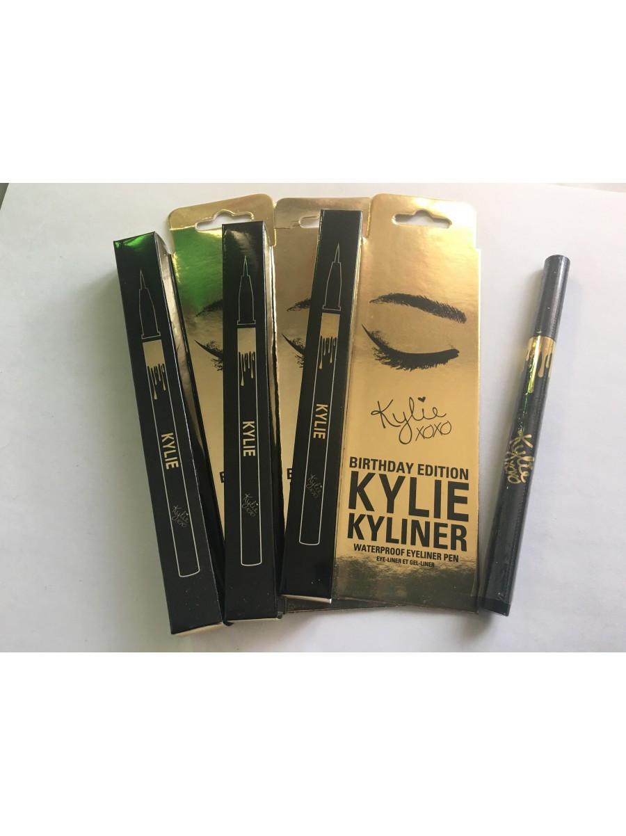 Подводка-фломастер для век Birthday Edition Kylie, подводка для глаз, Красота и здоровье