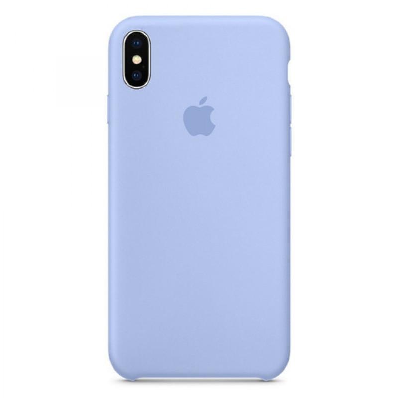 Чехол Apple (MC) iPhone XS Max (Lilac Cream)