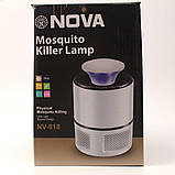 Лампа от насекомых Nova NV 818, Лампа від комах, Отпугиватели и уничтожители насекомых , фото 2