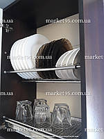 Сушарка для посуду у шафу з нержавіючої сталі 500мм, фото 1